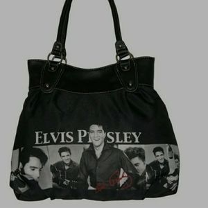 Elvis Presley Through the Years shoulder b…